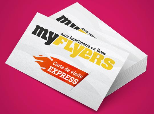 Votre Carte De Visite Express Imprimee 100 A 400 Exemplaires