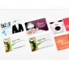 Impression cartes de visite PVC