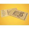 Carte de visite papier texture bois