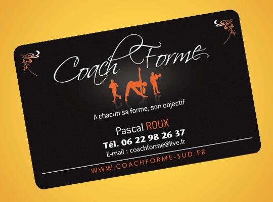 Carte PVC mat