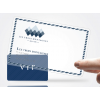 Carte PVC translucide