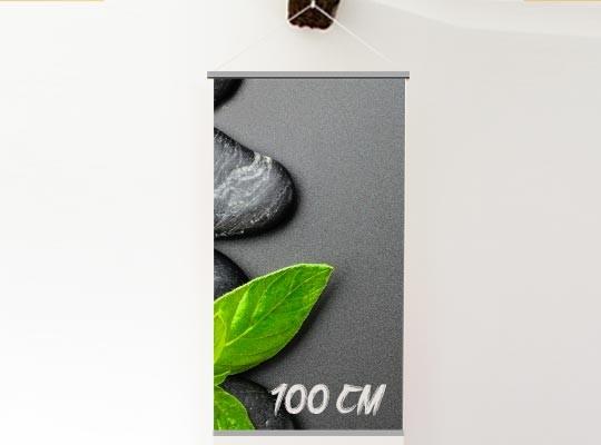 Kakemono suspendu rail 100 cm