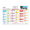 Calendriers immobiliers A5 2021