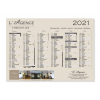 Calendriers immobiliers A4 2021