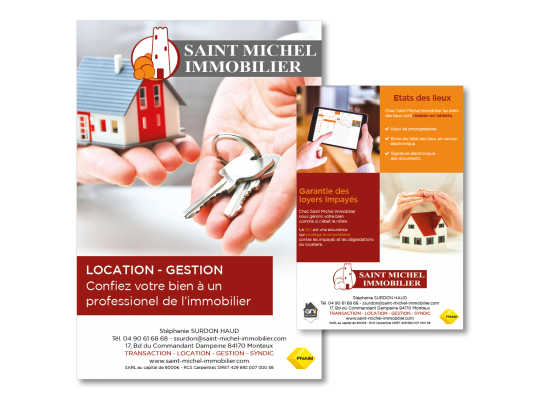 Flyer immobilier A5